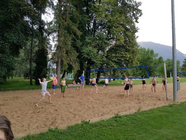 Sommerpause – Abschluss in der Badi